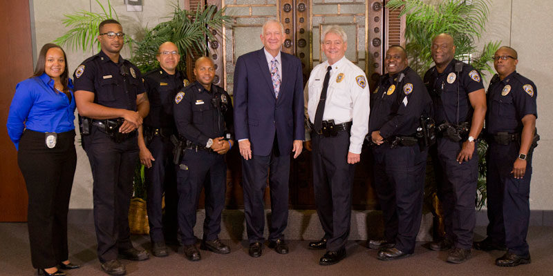 HPD Veteran Assumes Role as Chief of HBU Police Department