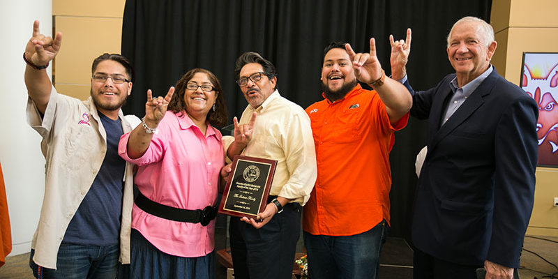 HBU Hosts Family Weekend and Honors Family of the Year