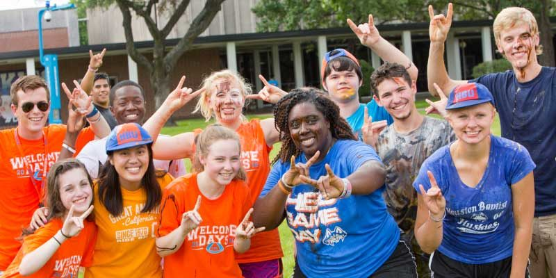 HBU Welcome Week Had Something for Everyone