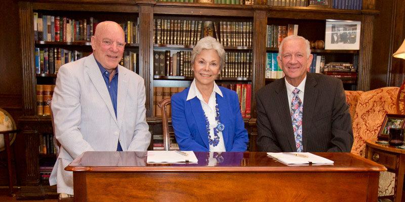 Bob and Janice McNair Donate to HBU