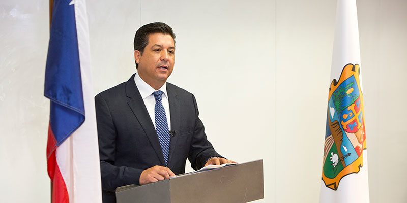 Alumnus Cabeza de Vaca Sworn in as Governor of Tamaulipas