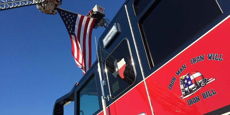 "HBU Hosts Fire Capt. ""Iron Bill"" Dowling Memorial Service"