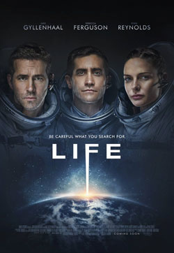 Life 2017 official movie poster