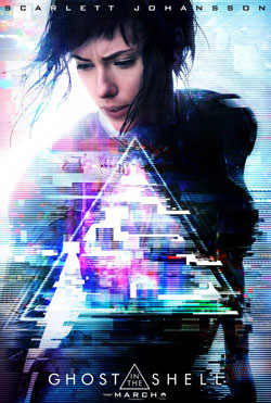 The Ghost in the Shell movie poster