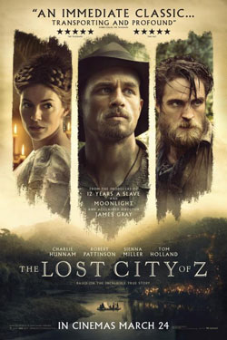 The Lost City of Z official movie poster
