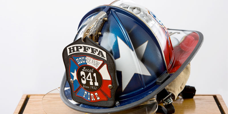 "Fire Helmet presentation in honor of HFD Captain William ""Iron Bill"" Dowling"