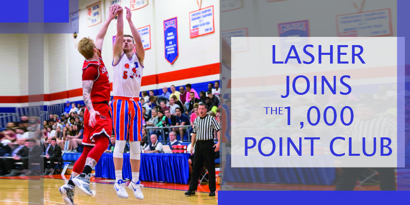 Colter Lasher Joins the 1,000 Point Club