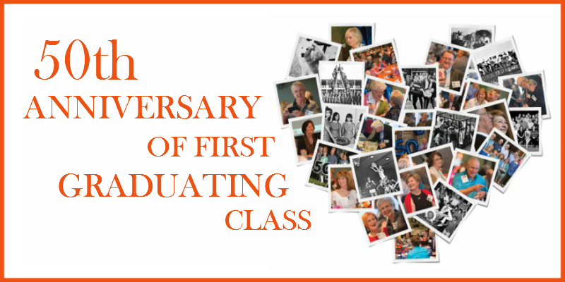 50th Anniversary of First Graduating Class
