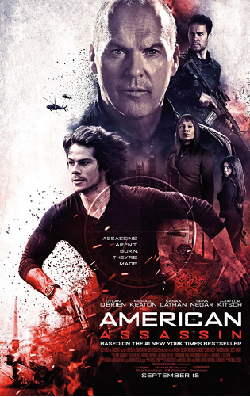 American Assassin 2017 Movie Poster