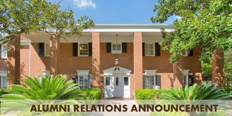 Alumni Reactions Announcement