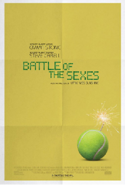 Battle of the Sexes 2017 Movie Poster