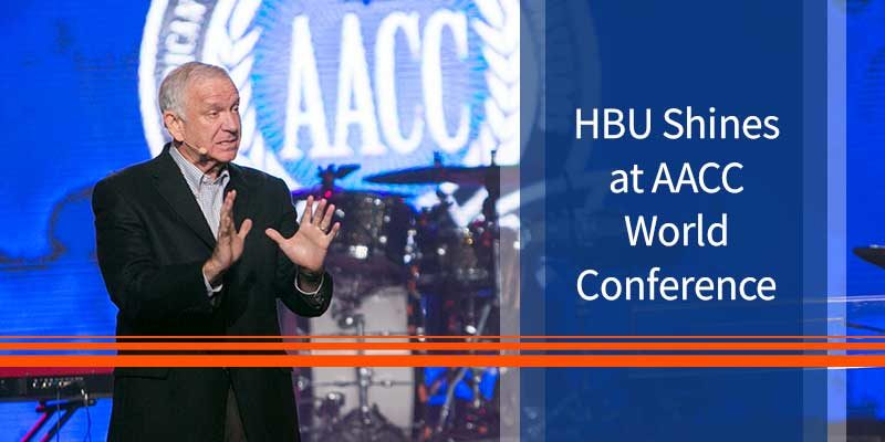 HBU Shines at AACC World Conference