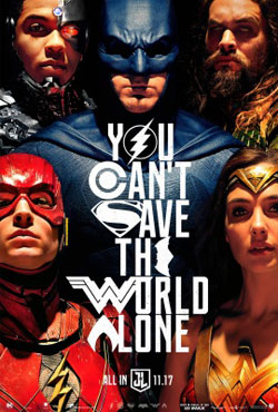 justice league official movie poster