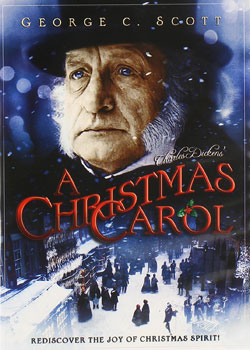 A Christmas Carol George C Scott 1984 official movie poster