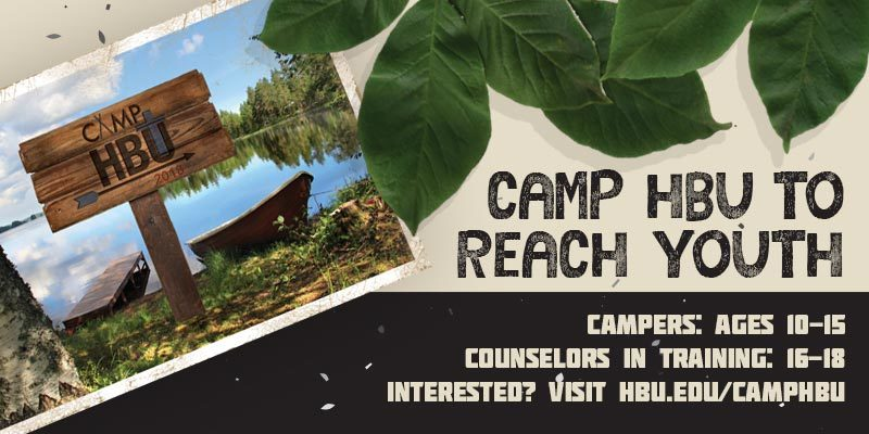Camp HBU Article Header