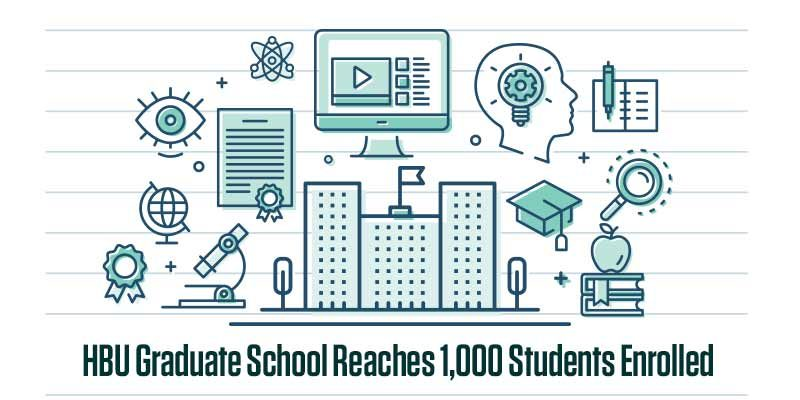 HBU Graduate School Reaches 1,000 Students Enrolled