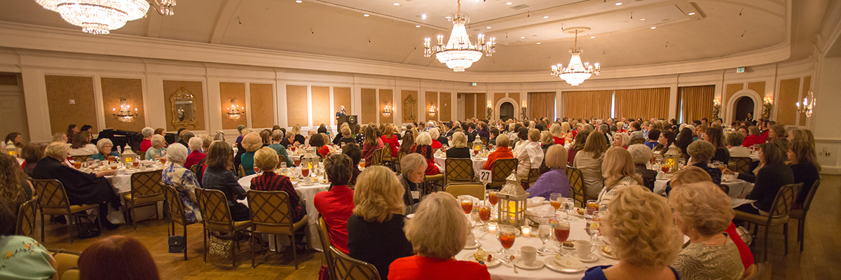 The Guild of Houston Baptist University Presented the Annual Christmas Luncheon