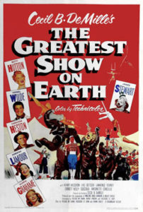 The Greatest Show on Earth official movie Poster 1952