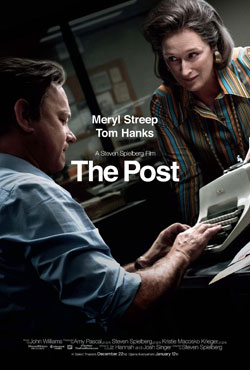 The Post official movie poster