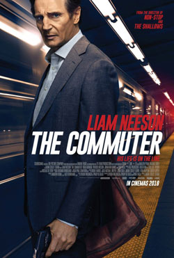 The Commuter official movie poster