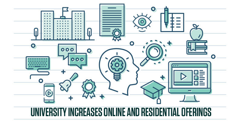 University Increases Online and Residential Offerings