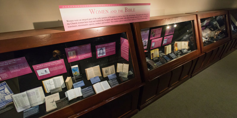 Dunham Bible Museum Showcasing Women and the Bible