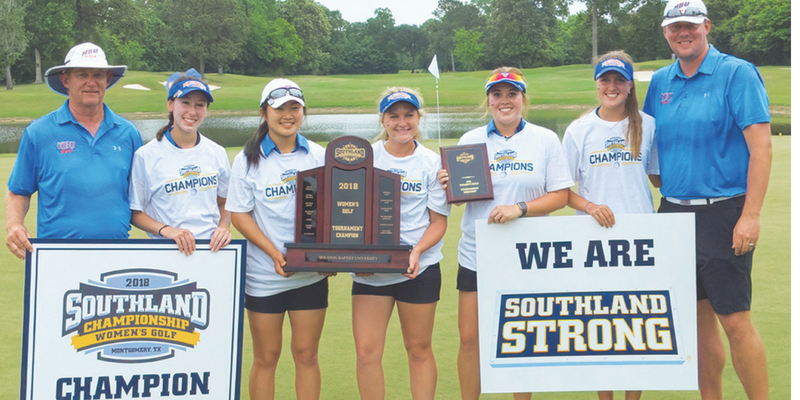 Women's Golf Captures Second-Straight Southland Conference Championship