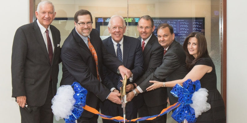 Robert Griswold Finance & Analytics Lab Opens