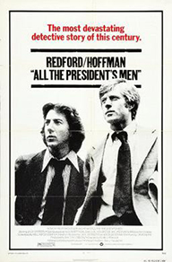 All the President's Men, Official Poster