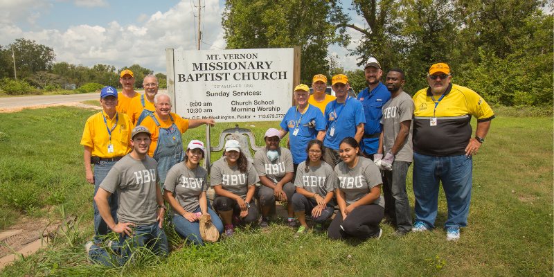 Baptist General Convention of Texas Doing Good in Texas and at HBU