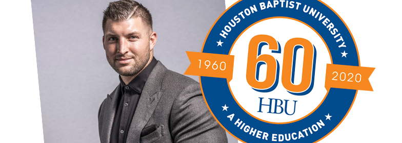 HBU Welcomes Tim Tebow for Spirit of Excellence Gala
