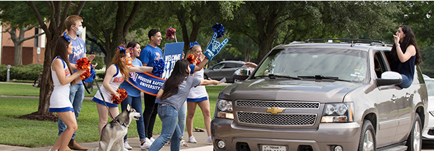 HBU to Host Husky Drive-In Sessions for Incoming Students