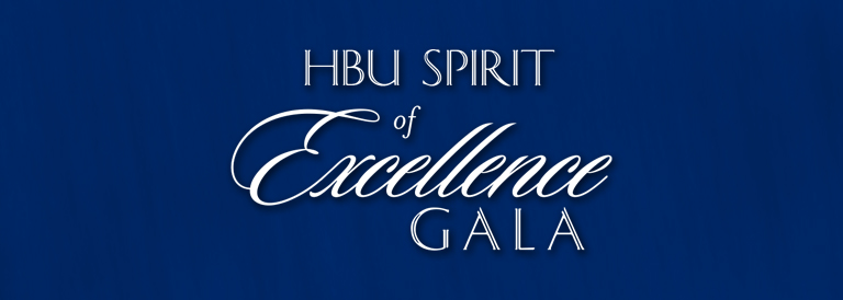 2021 HBU Spirit of Excellence Gala
