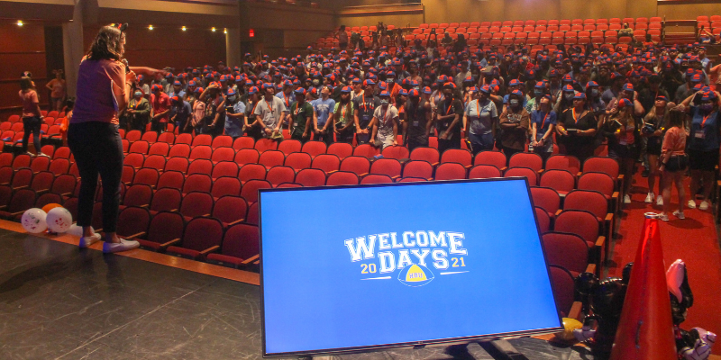 HBU students return to campus for start of Fall '21 semester