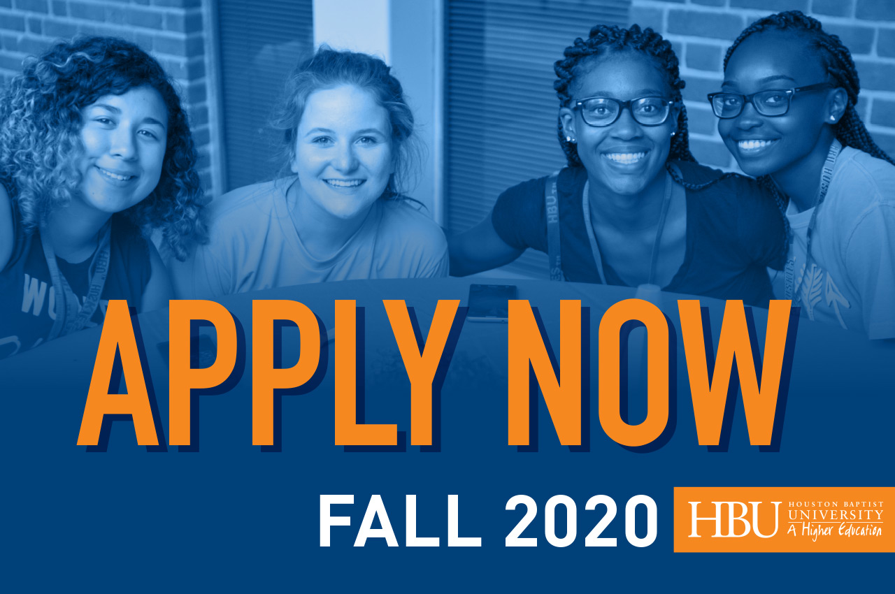 Apply Now - Fall 2020
