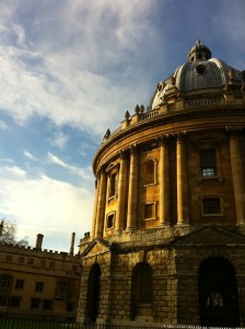Radcliffe Camera in summer