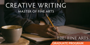 Master of Fine Arts in Creative Writing