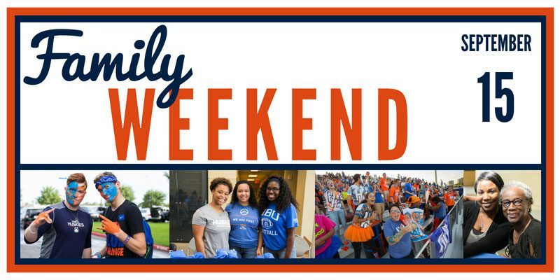 Register Today: Family Weekend 2018