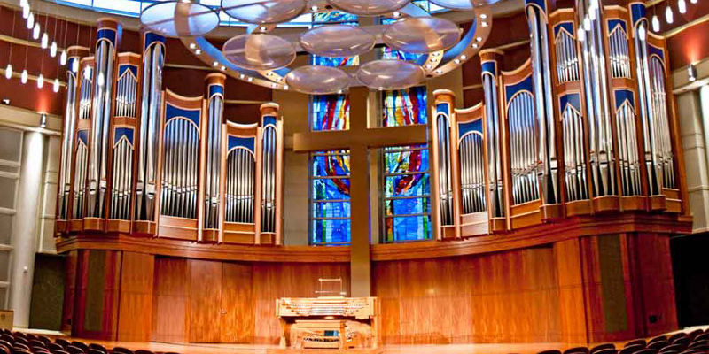 The Smith Organ at Houston Baptist University