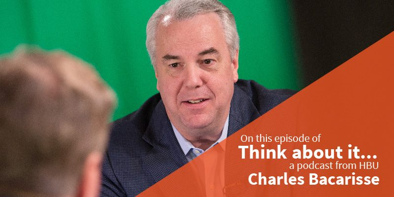 #57 Charles Bacarisse – Vice President of Major Gifts