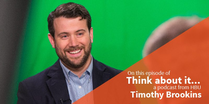 #66 Timothy Brookins – Director of Graduate Programs, School of Christian Thought